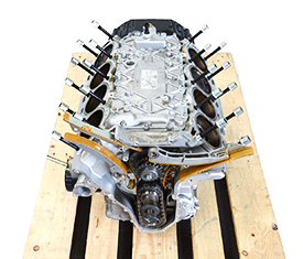 Maserati 4200 Spyder motors
